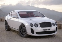 3D Модель Автомобиля  Bentley Continental Supersports
