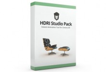 HDRI Studio Pack 1.9 For Cinema 4D  R16-R12