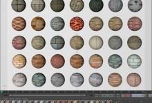 Rock  materials pack  for cinema 4d
