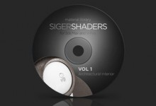 SigerShaders Vol. 1-Vray  for 3ds Max
