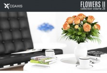 CGAxis Models Volume 26 Flowers II-сборник цветов