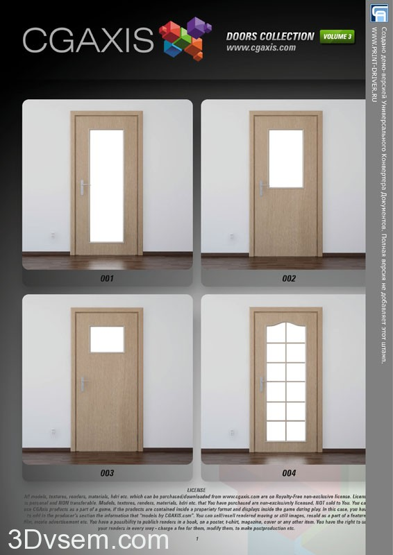 CGAXIS_Doors_collection_vol_3