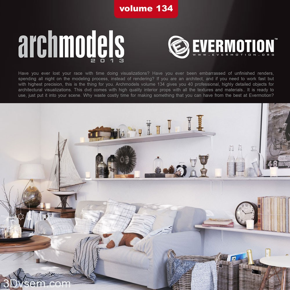 Evermotion-Archmodels Vol.134