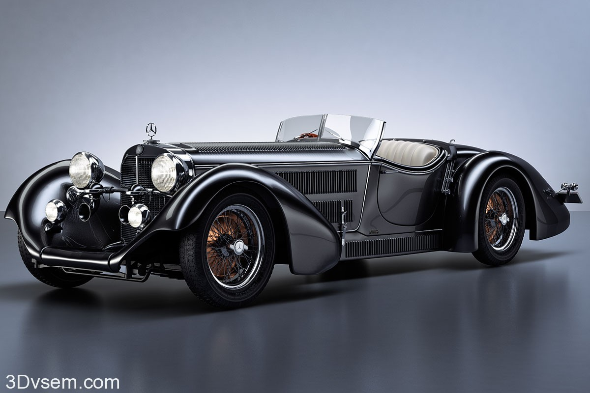 Mercedes Benz SS Roadster