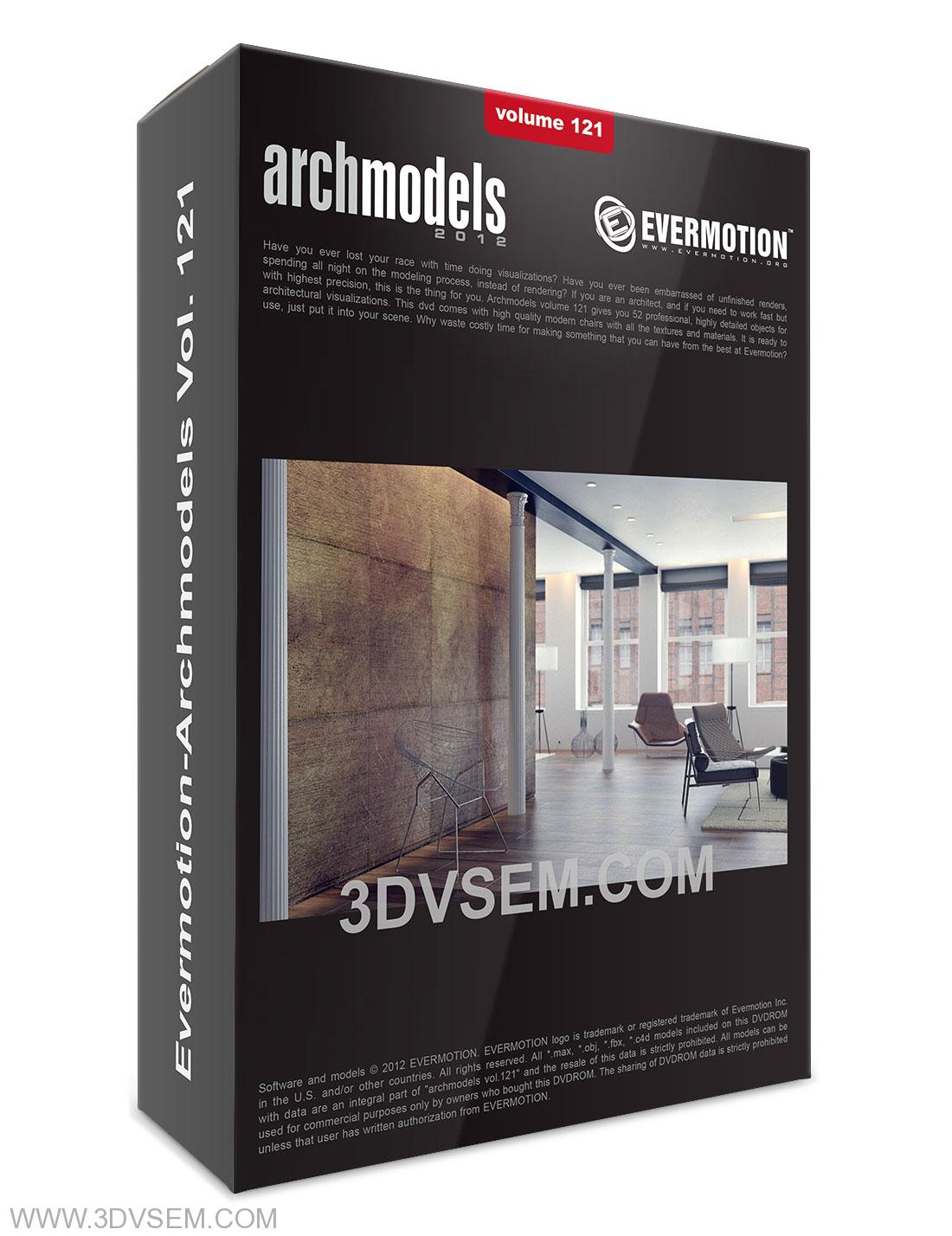 Evermotion-Archmodels Vol. 121